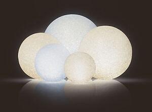 LED Leuchtkugel mit 4 Funktionen - 5 Größen - Stimmungsleuchte Deko Kugel Lampe