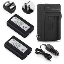 2 x EN-EL1 Battery For Nikon COOLPIX 4300 4500 4800 E880 995 5700 8700 + Charger