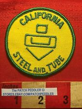 CITY OF INDUSTRY CALIFORNIA ADVERTISING PATCH CA STEEL & TUBE Welded Tubing 61C7