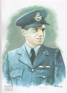 DAVID PRITCHARD SIGNED WW2 BATTLE OF BRITAIN PILOTS -CHOOSE FROM DROPDOWN LIST