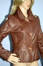 Marks and Spencer Brown Leather Outer Shell Coats, Jackets & Waistcoats for Women