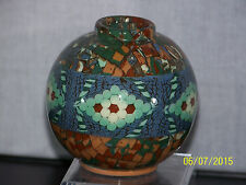 Jean Gerbino French Art Pottery Vintage Vase Signed & Marked