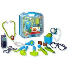 Durable Kids Doctor Kit With Electronic Stethoscope and 12 Medical Doctors in a