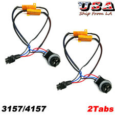 2X 3157 4157 LED Decoder Load Resistor For LED Turn Signal Light Fix Hyper Flash