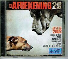 CD : De Afrekening 29 - Studio Brussel (2 cd box)