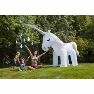 Giant Unicorn Garden Sprinkler (Tether)