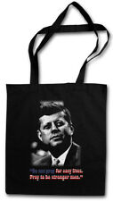JFK PRAY FOR EASY LIVES STOFFTASCHE John USA Liberty F. President Kennedy US