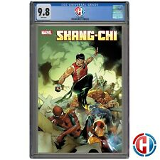 SHANG-CHI #1 CGC Graded 9.8 PRESALE 5/19/21 Marvel Comics