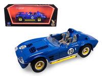 1964 Chevrolet Corvette Grand Sport Roadster Blue 1:18 Diecast Model - 92697bl