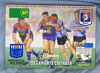 #NN. 1993 NEWCASTLE KNIGHTS  RUGBY LEAGUE CALENDAR
