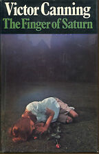 The Finger of Saturn-Victor Canning-First UK Edition/DJ-1973
