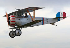 Giant 1/3 Scale French WW-II Nieuport 17 Biplane Plans and Templates 107ws