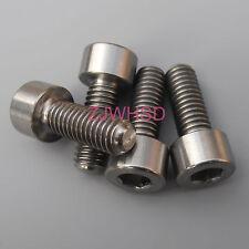 4pcs M6 x 16 mm Titanium Ti Screw Bolt Allen Hex Socket Cap Head Aerospace Grade
