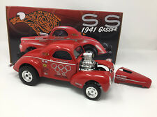 1:18 Acme KS Pittman Red 1941 Hemi Willy S&S Racing Gasser Dragster A1800908