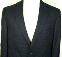 Daniel Cremieux Loro Piana Sport Coat Size 42 Regular Blue Check Two Button Wool