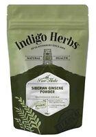 Siberian Ginseng Powder - 100g - (Quality Assured) Indigo Herbs