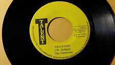 "The Cimarons - Tradition Killer /Roots Reggae 45"" on Talent Label"