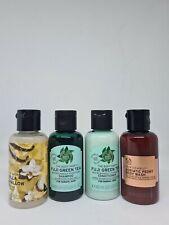 The Body Shop 4 Piece Travel Set: Shampoo/Conditioner/Body Wash/Shower Gel 60ml