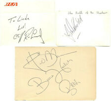 Cliff Richard and The Shadows signed autograph album pages 1960s British band