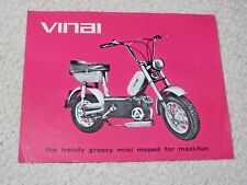 1980's VINAI SCOOTER (INDIA) SALES BROCHURE
