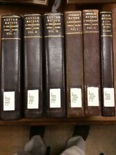 Cotton And Increase Mather Bibliography + Minor Mathers - 6 Vol. Set Ex-Library
