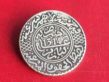 ISLAMIC / ARABIC / MAROC / MOROCCO très rare 5 dirhams 1314 H / 1896 argent
