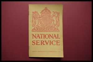 ORIGINAL WWII NATIONAL SERVICE MANUAL 1939