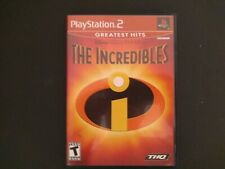 Ps2 The Incredibles Playstation 2