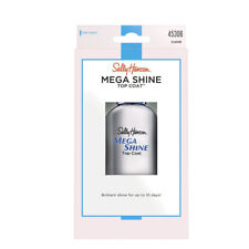 Sally Hansen Mega Shine Extended Wear Top Coat Clear Dries in 60 Seconds 45306