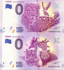 14 LISIEUX Cerza 3 et 4, Mêmes numéros de la 4ème, Billet 0 € Souvenir