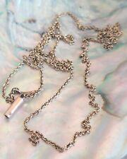 """Collar de cadena 9ct Oro Vintage 25"""""""