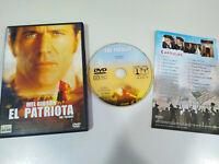El Patriota Mel Gibson - DVD + Extras Español English Region 2