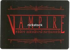 Vampire Elder Kindred Network VEKN Membership Card x2 VTES Jyhad