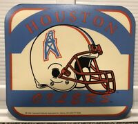 Vintage NFL mousepad--HOUSTON OILERS--