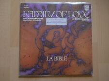 "RARE DOUBLE LP / GATEFOLD SLEEVE + BOOKLET 12 P. FAMILY OF LOVE ""LA BIBLE"" 1977"