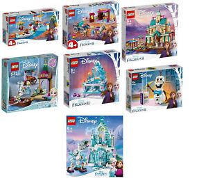 LEGO Disney Eiskönigin 2 Frozen Set 41165+41166+41167+41168+41169+41155+43172
