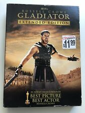 Gladiator Extended Edition Russell Crowe Dvd 3-Disc Set