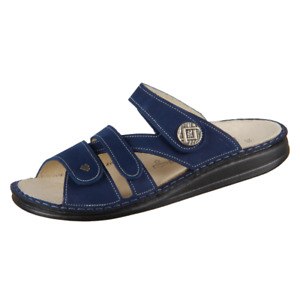 Finn Comfort Women's Agueda Slide Comfort Sandals - Atoll Nubuck NIB
