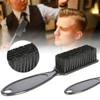 Professional Hair Comb Scissors Cleaning Fade Brush Salon Barber Styling Tool