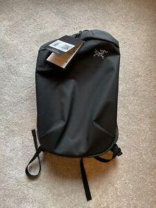 NEW NWT Arcteryx Black 24017 Arro 20 Bucket Bag Outdoor Commuter Backpack