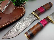 New listing CUSTOM HANDMADE DAMASCUS STEEL HUNTING HIKING DAGGER TACTICAL VIKING BOOT KNIFE