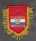 🔴Pennant / small flag // of Croatia  size 120 x 150 mm🔴