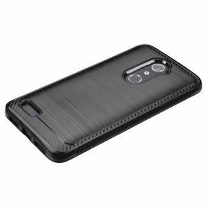 For ZTE Zmax Pro Z981 Slim Hybrid Shockproof Rugged Protective Hard Case Cover