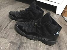 Air Jordan 11 Gamma Blue XI Black 23 Size 7Y Youth