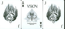 White Vision USPC Bicycle Custom Playing Card Decks! Only 2500 Printed!