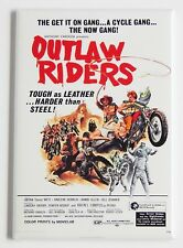 Outlaw Riders FRIDGE MAGNET (2 x 3 inches) movie poster motorcycle