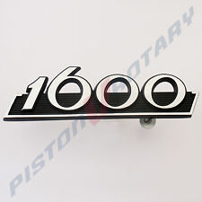 1600 Grille Badge New black for MAZDA Rotary Capella 616 Coupe 10A 13B RX2 Grill