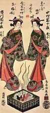Torii Kiyohiro Ichikawa Danjuro Iv And Nakamura Tomijuro I A4 Print