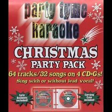 Party Tyme Karaoke - Christmas Party Pack (32+32-song Party Pack) [4 CD], Billbo