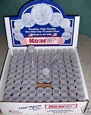 100 KOIN Nickel Coin Tubes BRAND NEW Buffalo storage
